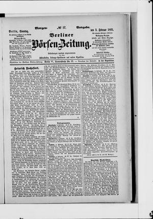 Berliner Börsen-Zeitung vom 03.02.1895