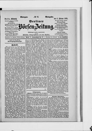 Berliner Börsen-Zeitung vom 06.02.1895