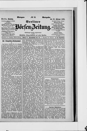 Berliner Börsen-Zeitung vom 10.02.1895