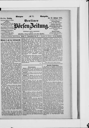 Berliner Börsen-Zeitung vom 12.02.1895