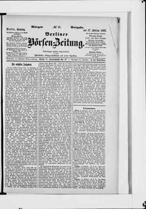 Berliner Börsen-Zeitung vom 17.02.1895