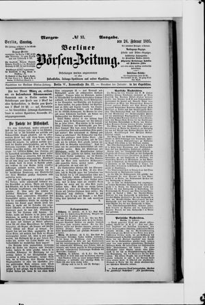 Berliner Börsen-Zeitung on Feb 24, 1895
