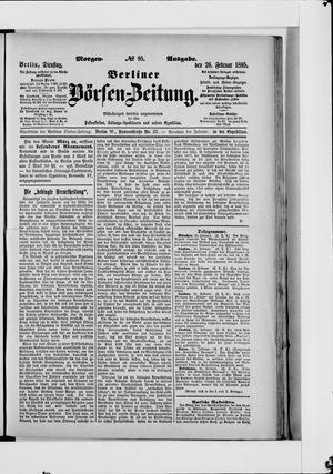 Berliner Börsen-Zeitung vom 26.02.1895