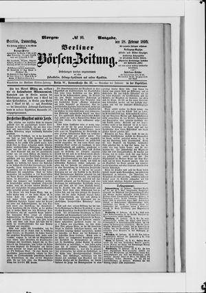 Berliner Börsen-Zeitung vom 28.02.1895