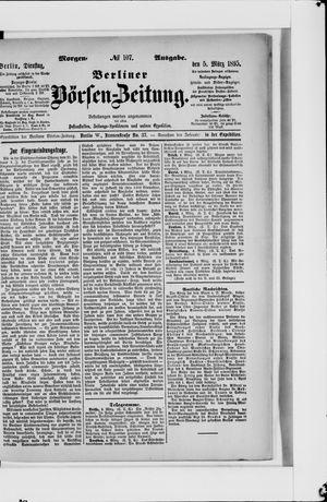 Berliner Börsen-Zeitung vom 05.03.1895