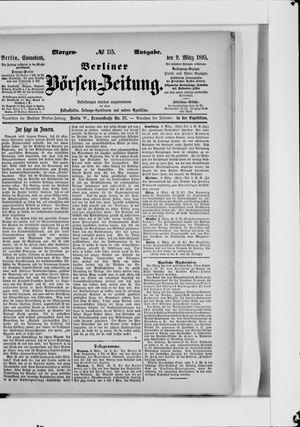 Berliner Börsen-Zeitung vom 09.03.1895