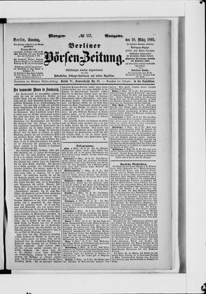 Berliner Börsen-Zeitung vom 10.03.1895