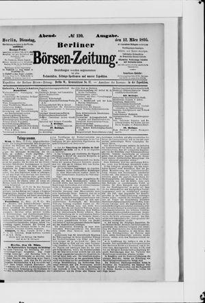 Berliner Börsen-Zeitung vom 12.03.1895