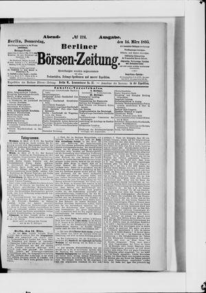 Berliner Börsen-Zeitung vom 14.03.1895