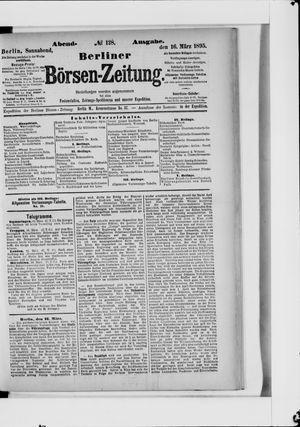 Berliner Börsen-Zeitung vom 16.03.1895