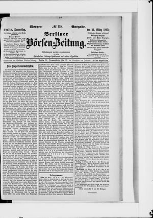 Berliner Börsen-Zeitung vom 21.03.1895