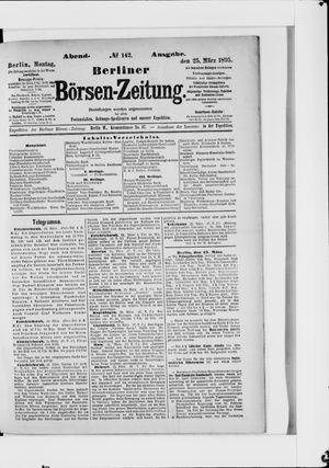 Berliner Börsen-Zeitung vom 25.03.1895