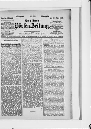 Berliner Börsen-Zeitung vom 27.03.1895