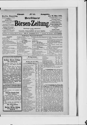 Berliner Börsen-Zeitung vom 28.03.1895