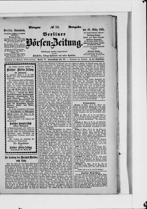 Berliner Börsen-Zeitung vom 30.03.1895