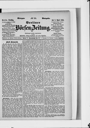 Berliner Börsen-Zeitung vom 02.04.1895