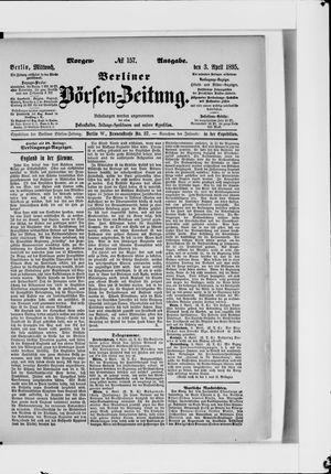 Berliner Börsen-Zeitung vom 03.04.1895