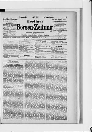 Berliner Börsen-Zeitung vom 16.04.1895