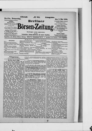 Berliner Börsen-Zeitung vom 02.05.1895