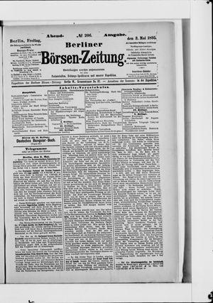 Berliner Börsen-Zeitung vom 03.05.1895