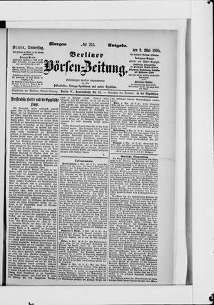 Berliner Börsen-Zeitung vom 09.05.1895