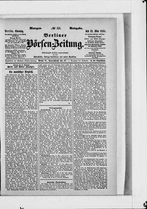 Berliner Börsen-Zeitung vom 12.05.1895