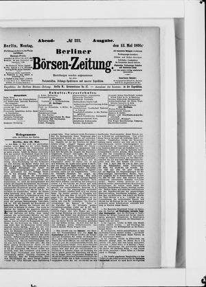 Berliner Börsen-Zeitung vom 13.05.1895