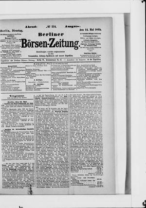 Berliner Börsen-Zeitung vom 14.05.1895