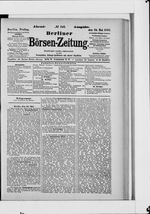 Berliner Börsen-Zeitung vom 24.05.1895