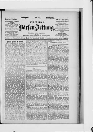 Berliner Börsen-Zeitung vom 28.05.1895