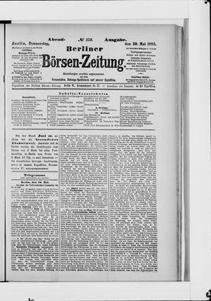 Berliner Börsen-Zeitung vom 30.05.1895