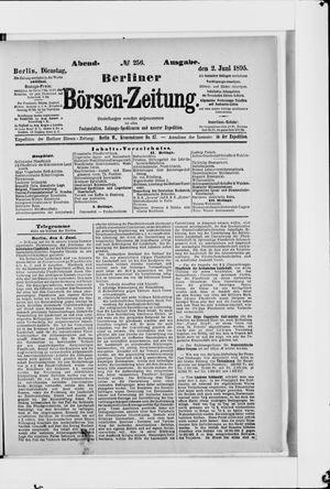Berliner Börsen-Zeitung vom 02.06.1895