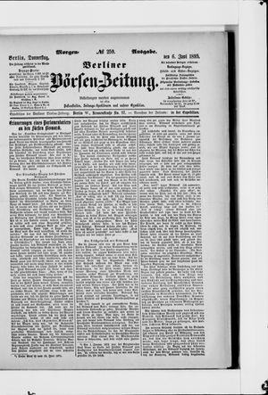 Berliner Börsen-Zeitung vom 06.06.1895
