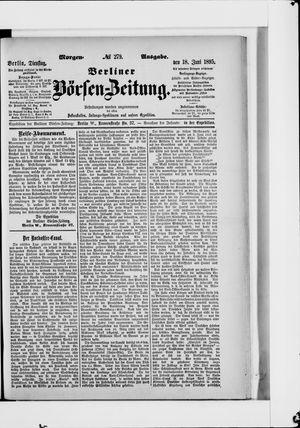 Berliner Börsen-Zeitung vom 18.06.1895