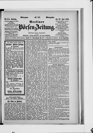 Berliner Börsen-Zeitung vom 23.06.1895