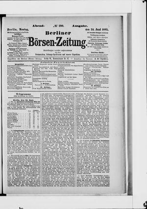 Berliner Börsen-Zeitung vom 24.06.1895