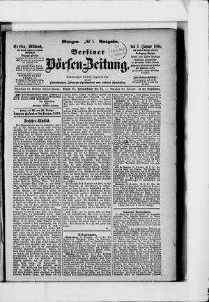 Berliner Börsen-Zeitung vom 01.01.1896