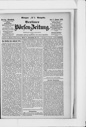 Berliner Börsen-Zeitung vom 04.01.1896
