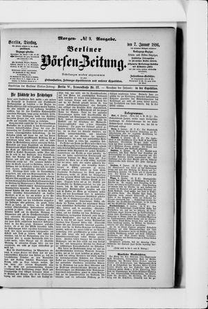Berliner Börsen-Zeitung vom 07.01.1896