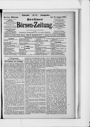 Berliner Börsen-Zeitung vom 15.01.1896