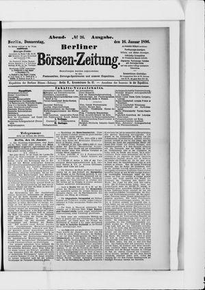 Berliner Börsen-Zeitung vom 16.01.1896