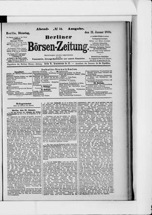 Berliner Börsen-Zeitung vom 21.01.1896
