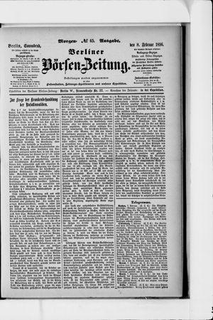 Berliner Börsen-Zeitung vom 08.02.1896