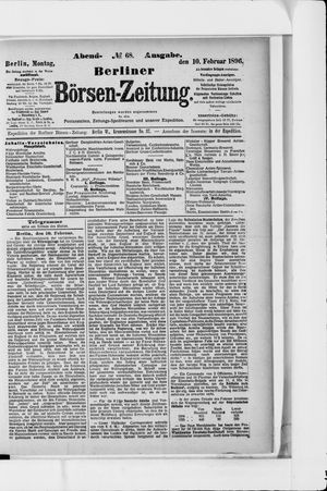 Berliner Börsen-Zeitung vom 10.02.1896
