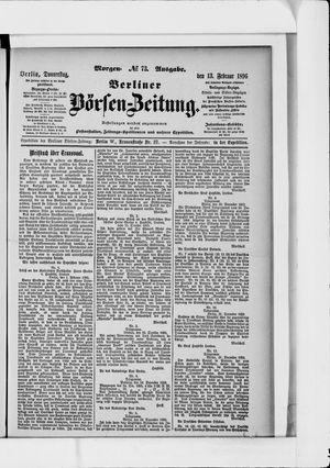 Berliner Börsen-Zeitung vom 13.02.1896