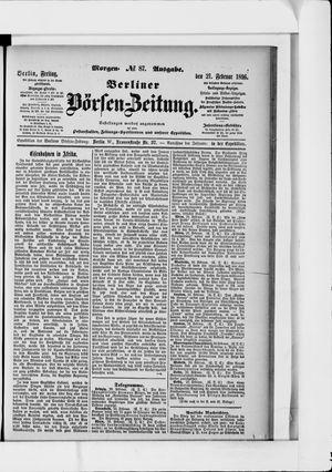 Berliner Börsen-Zeitung vom 21.02.1896
