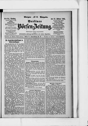 Berliner Börsen-Zeitung vom 25.02.1896