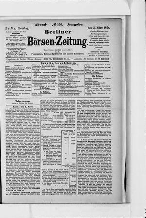 Berliner Börsen-Zeitung vom 03.03.1896