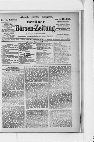 Berliner Börsen-Zeitung vom 04.03.1896