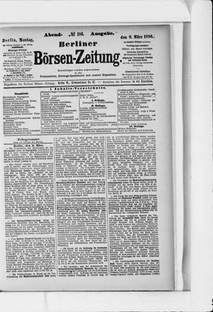 Berliner Börsen-Zeitung vom 09.03.1896
